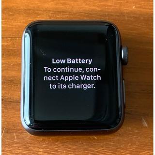 アップルウォッチ(Apple Watch)のApple Watch Serie3 Nike+(Cellularモデル)42m(その他)