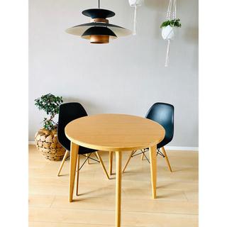 アクタス(ACTUS)のGLOBE様専用 Maruni マルニ木工ラウンドテーブル80(ダイニングテーブル)