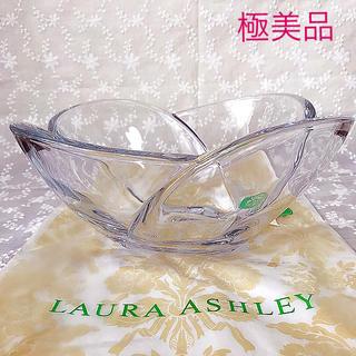 ローラアシュレイ(LAURA ASHLEY)の極美品ローラアシュレイ♡︎ガラス器 食器 インテリア アフタヌーンティー好きにも(食器)