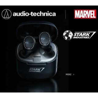 オーディオテクニカ(audio-technica)のMARVEL audio-technica ATH-CK3TW SI【新品】(ヘッドフォン/イヤフォン)
