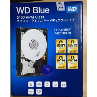 ウエスタンエディション(Western Edition)の【今年7月購入】HDD 4TB western digital 未開封(PCパーツ)