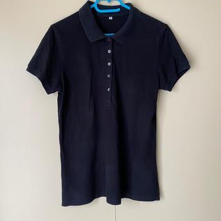 ムジルシリョウヒン(MUJI (無印良品))の無印良品 ポロシャツ 黒(ポロシャツ)