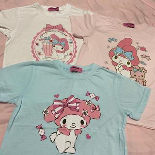 マイメロディ(マイメロディ)のマイメロディの半袖Tシャツ130☆3枚セット(Tシャツ/カットソー)