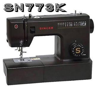 シンガー ミシン 本体 SN773K ブラック / Singer 電動ミシン