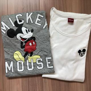 ミッキーマウス(ミッキーマウス)のミッキーマウスTシャツ 2枚セット(Tシャツ(半袖/袖なし))