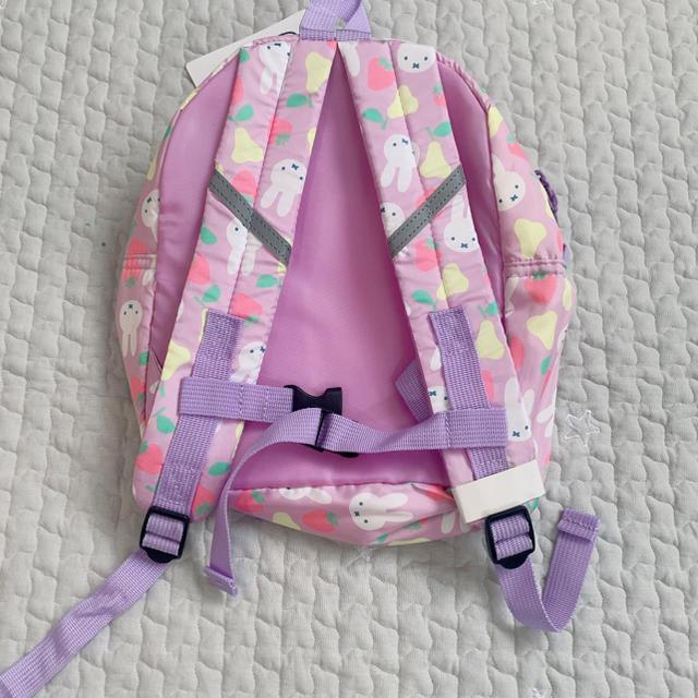 西松屋(ニシマツヤ)のミッフィー リュック キッズ/ベビー/マタニティのこども用バッグ(リュックサック)の商品写真