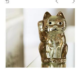 バカラ(Baccarat)のbaccara 招き猫(置物)