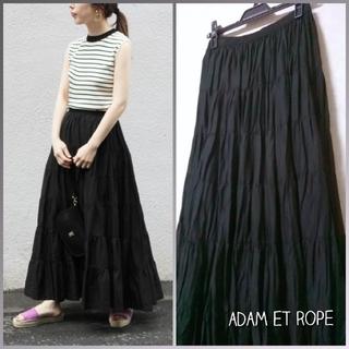 Adam et Rope' - ROPE*°ボイルティアードマキシスカート