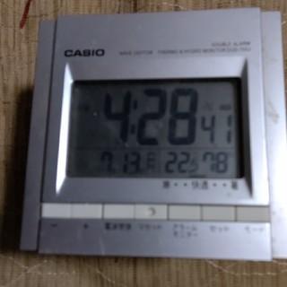 CASIO - カシオ 電波目覚まし時計 DQD-700J