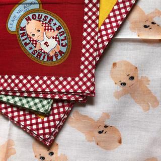 PINK HOUSE - ベビーピンクハウス  キューピーのハンカチ 未使用品 3枚セット
