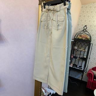 ミーアンドミークチュール(me & me couture)のme &me couture ミー&ミークチュール ロングスカート 未使用(ロングスカート)