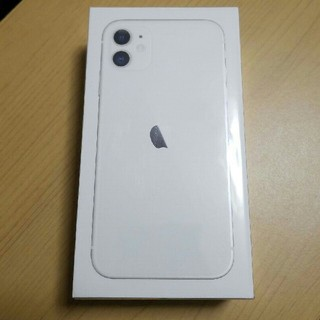 iPhone - 【未開封新品】iPhone 11 ホワイト 128 GB SIMフリー