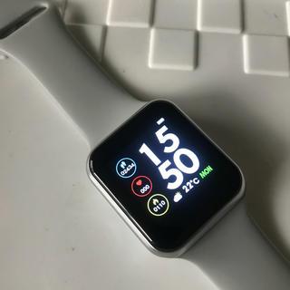 スマートウォッチ 血圧 活動量計 歩数計 心拍計 消費カロリー(腕時計(デジタル))