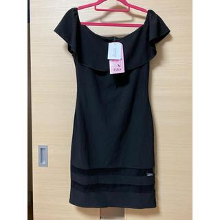 デイジーストア(dazzy store)のTikaオフショルキャバドレス タグ付き(ミニドレス)