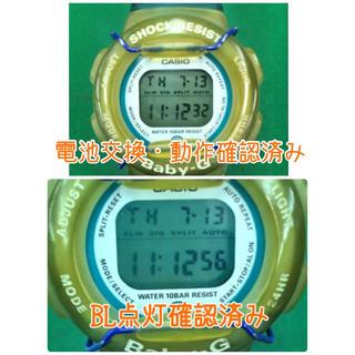 ベビージー(Baby-G)のG-SHOCK  Baby-G きりり 同型 BG-270  クリアブルー(腕時計(デジタル))