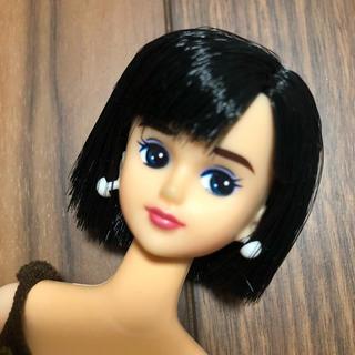 Takara Tomy - ジェニー④ リエ キサラ フレンド 黒髪ショート リカちゃん ドール バービー