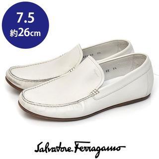 サルヴァトーレフェラガモ(Salvatore Ferragamo)のフェラガモ メンズ ローファー 7.5(約26cm)(スリッポン/モカシン)