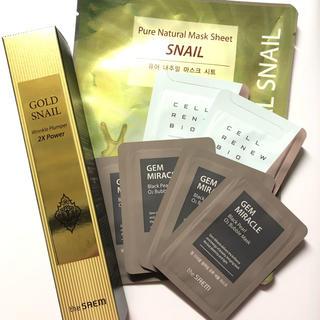 ザセム(the saem)のthe SAEM Gold Snail Wrinkle Plumper セット(美容液)