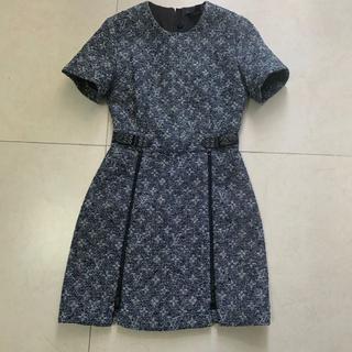 LOUIS VUITTON - 【Louis Vuitton】ショートスリーブドレス