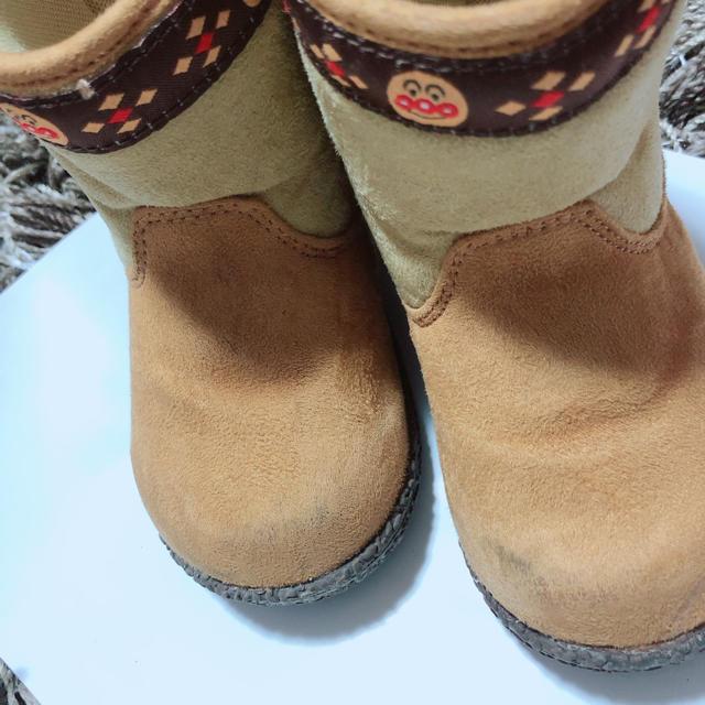 アンパンマン ブーツ 14センチ キッズ/ベビー/マタニティのベビー靴/シューズ(~14cm)(ブーツ)の商品写真