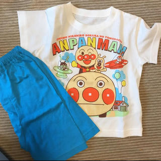 バンダイ(BANDAI)の新品 アンパンマン 80センチ パジャマ 半袖(パジャマ)