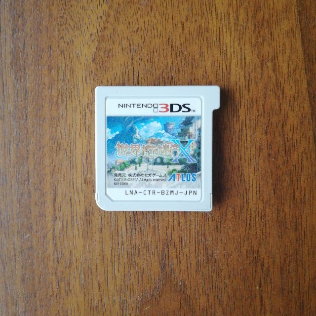 ニンテンドー3DS(ニンテンドー3DS)の世界樹の迷宮x エンタメ/ホビーのゲームソフト/ゲーム機本体(携帯用ゲームソフト)の商品写真