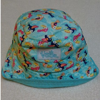 コストコ(コストコ)の新品★タグ付★子供用 日よけ付きキッズ帽子(南国柄)(帽子)