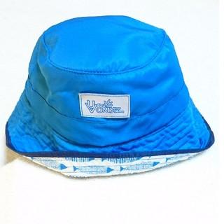 コストコ(コストコ)の★新品 タグ付★子供用 日よけ付きキッズ帽子(ブルー)(帽子)