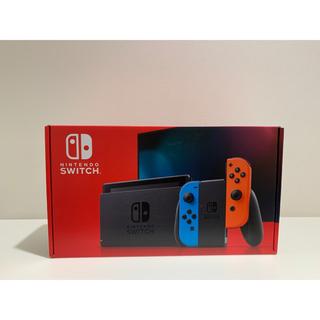 Nintendo Switch - 任天堂 Switch本体 ネオンブルー/ネオンレッド 新品未開封