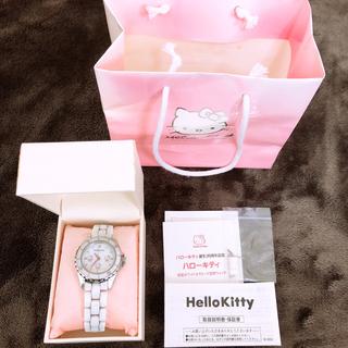 ハローキティ - [中古品]ハローキティ誕生35周年記念特別モデル エディションナンバー入り腕時計