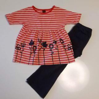 ボーデン(Boden)のTea Collection Tシャツとパンツのセット 3T ティーコレクション(Tシャツ/カットソー)