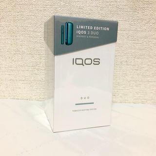 アイコス(IQOS)のiQOS3 DUO ルーシッドティール 新品 未登録(タバコグッズ)