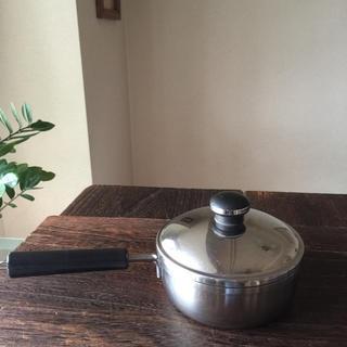 ステンレスの小鍋(鍋/フライパン)