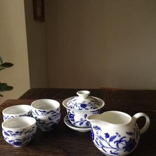 中国茶を入れるセット7客(食器)