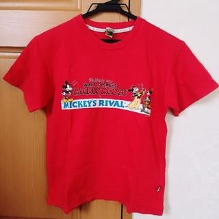 ミッキーマウス(ミッキーマウス)のミッキーマウス Mickey Mouse シンプル プリントTシャツ(Tシャツ(半袖/袖なし))