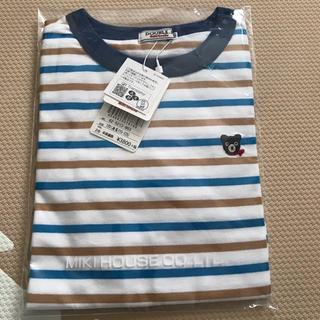 DOUBLE.B - 新品 ダブルB Tシャツ 120 半袖Tシャツ ボーダー