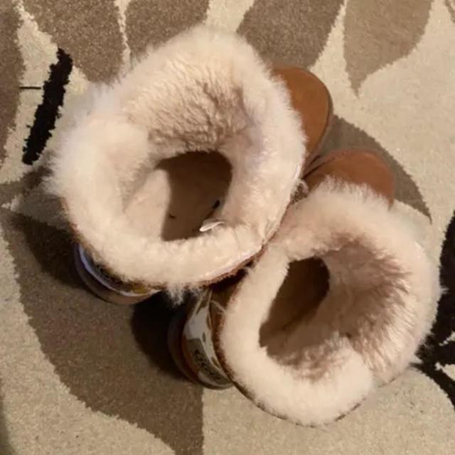 UGG(アグ)のUGG ムートンブーツ ブラウン スワロフスキー(24cm) レディースの靴/シューズ(ブーツ)の商品写真