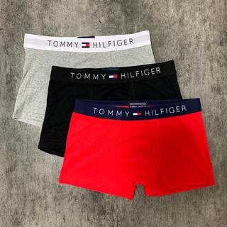 TOMMY HILFIGER - TOMMY HILFIGER ボクサーパンツ Lサイズ 3枚セット 送料無料