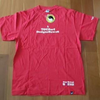 タウンアンドカントリー(Town & Country)のT&C 赤TシャツLサイズ(Tシャツ/カットソー(半袖/袖なし))