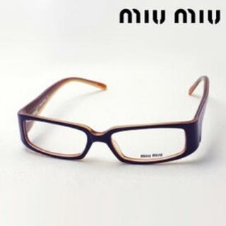 ミュウミュウ(miumiu)のmiumiu 伊達メガネ UVカット HOYAレンズ 新品未使用(サングラス/メガネ)