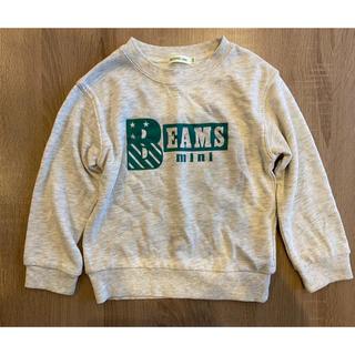 ビームス(BEAMS)のBEAMS MINI   ビーミスミニ トレーナー サイズ110(Tシャツ/カットソー)