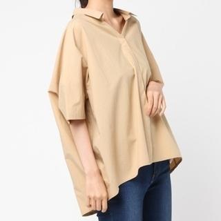 ブラックバイマウジー(BLACK by moussy)の新品 タグ付き ワイドシャツ(シャツ/ブラウス(半袖/袖なし))