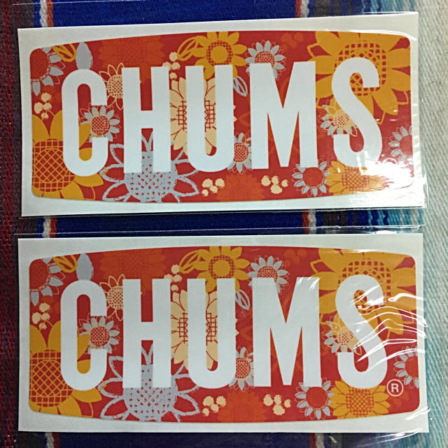 CHUMS(チャムス)の新品 CHUMS Sticker 2枚セット チャムス ステッカー f スポーツ/アウトドアのスポーツ/アウトドア その他(その他)の商品写真