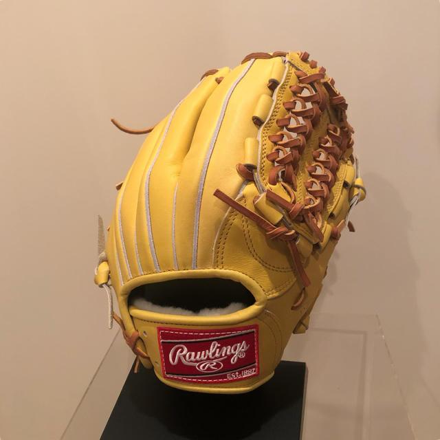 Rawlings(ローリングス)の超美品 Rawlings 硬式 内野手用 グローブ スポーツ/アウトドアの野球(グローブ)の商品写真