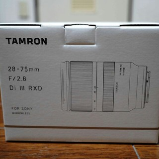 TAMRON - 【新品・未開封】 タムロン 28-75mm F2.8(A036)