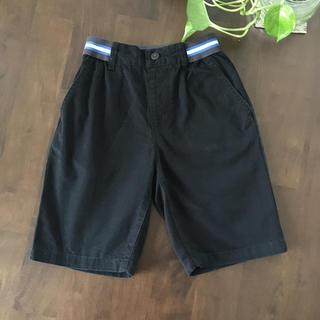 GU - GU★130サイズ 黒ハーフパンツ
