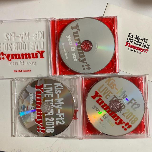Kis-My-Ft2(キスマイフットツー)のLIVE TOUR 2018 Yummy!! you&me(初回盤) DVD エンタメ/ホビーのDVD/ブルーレイ(ミュージック)の商品写真