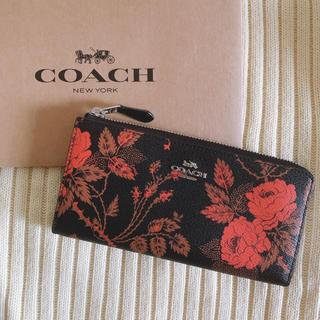 COACH - COACH 新品未使用♡ 花柄長財布