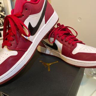 NIKE - 【即完売品】Jordan1 low wine red
