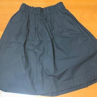 ムジルシリョウヒン(MUJI (無印良品))の美品!お買い得!MUJI綿ひざ丈スカート(ひざ丈スカート)